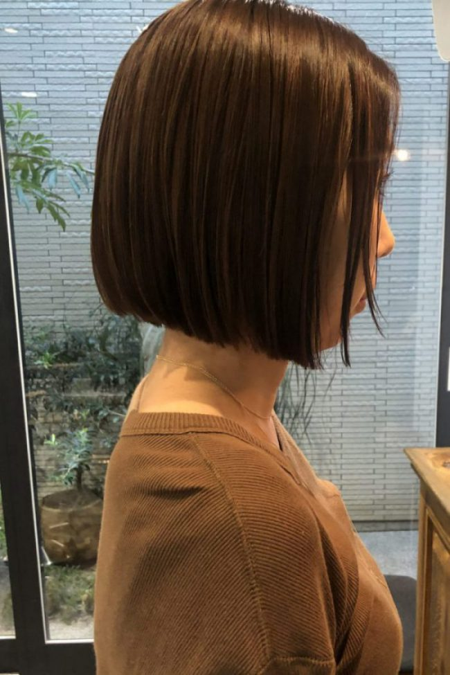2019年秋のヘアカラーは、暖色系のブラウンベージュがおすすめ