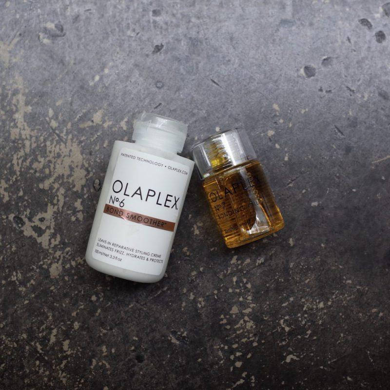 従来のヘアオイルとは違う、髪の毛の内部から補修する オラプレックス No.6/No.7